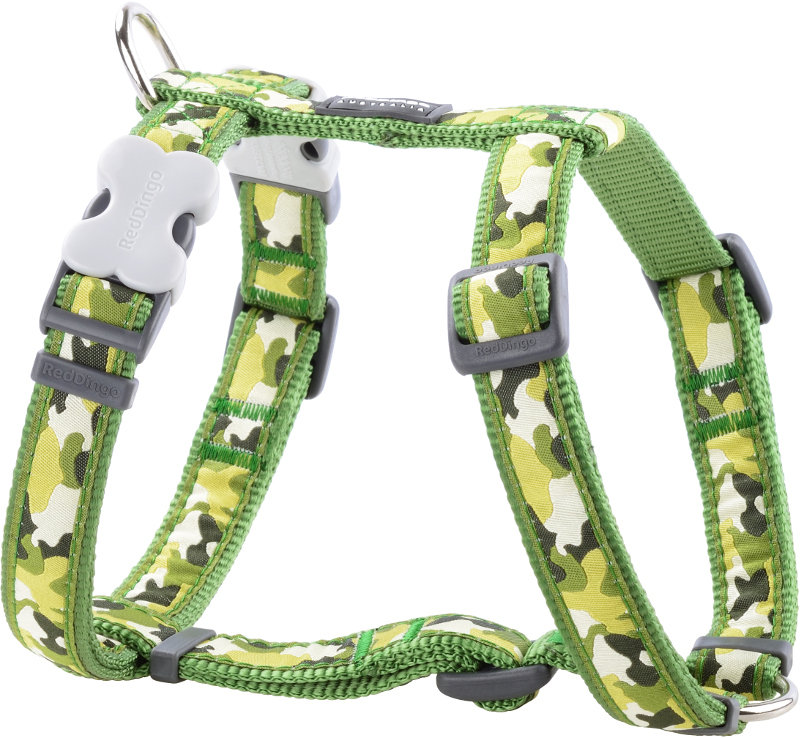 Dog Harness 12 Mm X 30-44 Cm - Camouflage Green