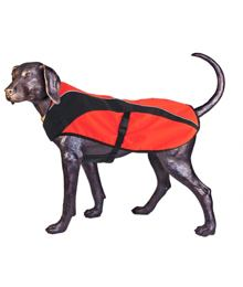 Arma-Doggo – Dog Coat – Red / Blk – Petit -1