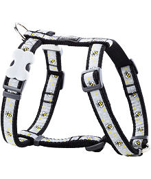 Dog Harness 12 mm x 30-44 cm - Bumble Bee Black