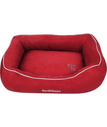 Donut Bed 60 x 80 cm – Red