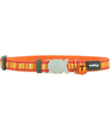 Cat Collar 12 mm x 20-32 cm– Lotzadotz Orange