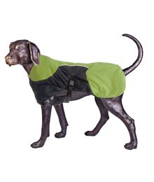 Puff-Doggy – Insulated Coat - Lime/ Blk – Medium