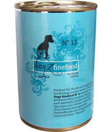 Dogz Finefood No.12 – Venison and herring 400 g