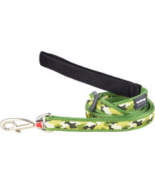 Dog Lead 12 mm x 1,8 m - Camouflage Green