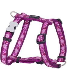 Dog Harness 12 mm x 30-44 cm - Breezy Love Purple