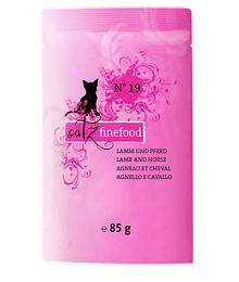 Catz Finefood No.19 – Lamb and horse – 85 g