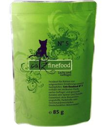 Catz Finefood No.5 – Salmon and Poultry 85 g