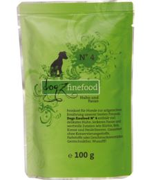 Dogz Finefood No.4 – Chicken and pheasant 100 g