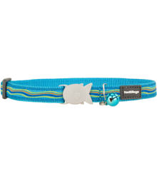 Cat Collar 12 mm x 20-32 cm– Dreamstream Turquoise