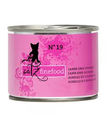 Catz Finefood No.19 – Lamb and horse 200 g