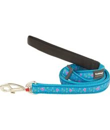 Dog Lead 12 mm x 1,8 m - Butterfly Turquoise