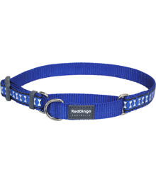 Martingale Collar 20 mm – Refl. Bones Dark Blue
