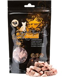 Catz finefood Purrrrly N ° 107 - dried lamb hearts, 100% meat