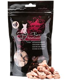 Catz finefood Purrrrly N ° 103 - dried poultry hearts, 100% meat