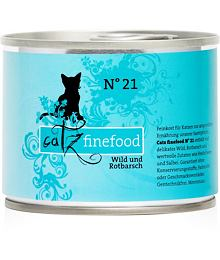Catz Finefood No.21 – Venison and redfish 200 g