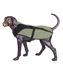 Arma-Doggo – Dog Coat – Khaki / Blk – Petit -2