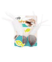 AFP Kitty – Feather Ball – with catnip