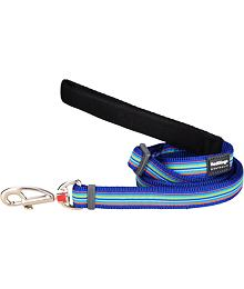 Dog Lead 12 mm x 1,8 m - Horizontal Stripes Navy
