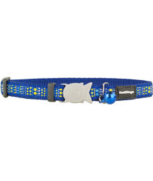 Cat Collar 12 mm x 20-32 cm– Lotzadotz Blue