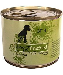Dogz Finefood No.4 – Chicken and pheasant 200 g