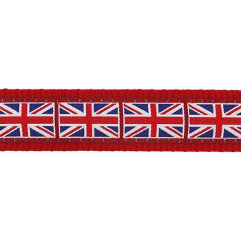 Multipurpose Dog Lead 12 mm x 2 m- Union Jack Flag