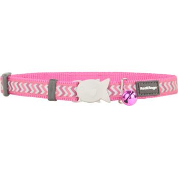 Cat Collar 12 mm x 20-32 cm – Refl. Ziggy Hot Pink
