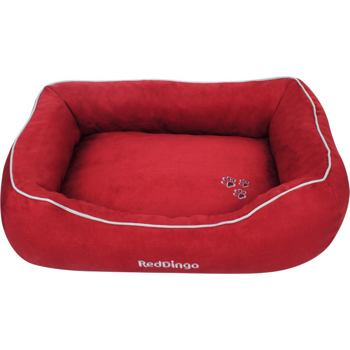 Donut Bed 75 x 100 cm – Red