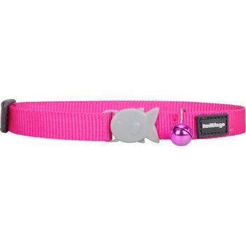 Cat Collar 12 mm x 20-32 cm – Hot Pink