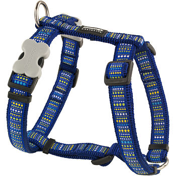 Dog Harness 25 mm x 56-80 cm - Lotzadotz Blue