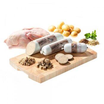 Zdravý a chutný masový salám, který obsahuje 90% čestvého kachního masa