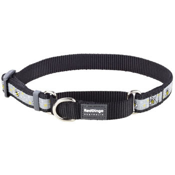 Martingale Collar 20 mm – Bumble Bee Black