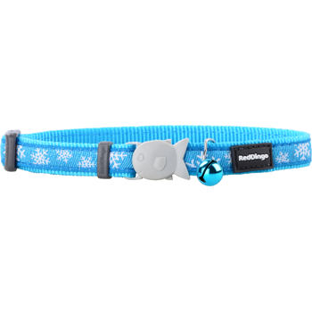 Cat Collar 12 mm x 20-32 cm– Snowflake
