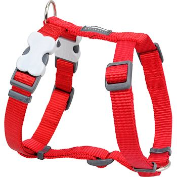 Dog Harness 12 mm x 30-44 cm – Red