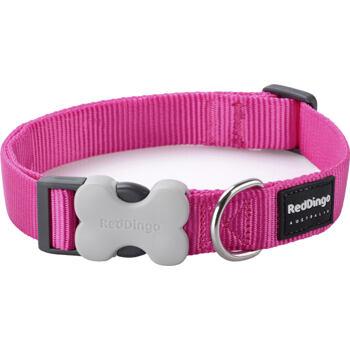 Dog Collar 25 mm x 41-63 cm – Hot Pink