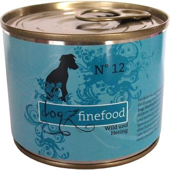 Dogz Finefood No.12 – Venison and herring 200 g