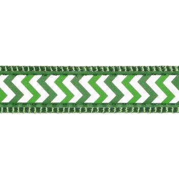 Multi Dog Lead 25 mm x 2 m– Reflective Ziggy Green