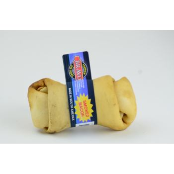 Flavoured Knotted Bones Bacon - 12 cm