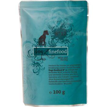 Dogz Finefood No.12 – Venison and herring 100 g