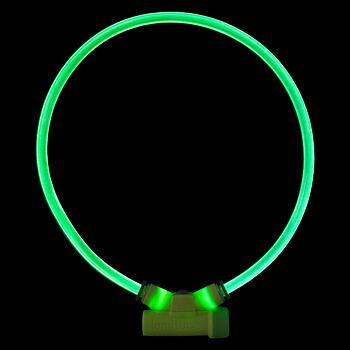 Lumitube Collar S-L - 15 - 80 cm – Green