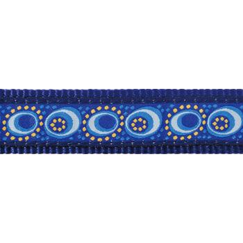 Dog Collar 20 mm x 30-47 cm – Cosmos Blue