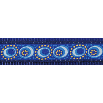 Martingale Dog Collar 25 mm - Cosmos Blue