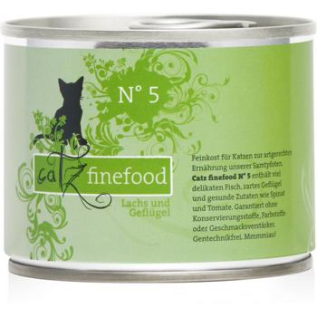 Catz Finefood No.5 – Salmon and Poultry 200 g
