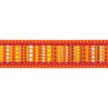 Multi Dog Lead 15 mm x 2 m - Lotzadotz Orange