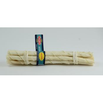 Natural Twisted Sticks 10 pcs - 25 cm