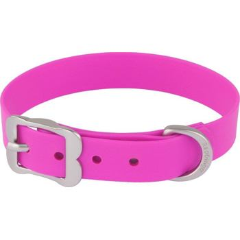 Dog Collar Vivid 20 mm x 28-36 cm - Hot Pink