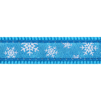 Dog Collar 12 mm x 20-32 cm – Snowflake