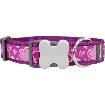 Dog Collar 40 mm x 37-55 cm – Breezy Love Purple
