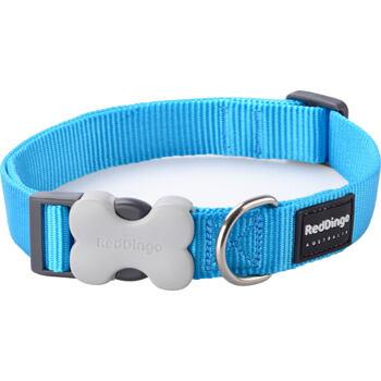 Dog Collar 25 mm x 41-63 cm – Turquoise
