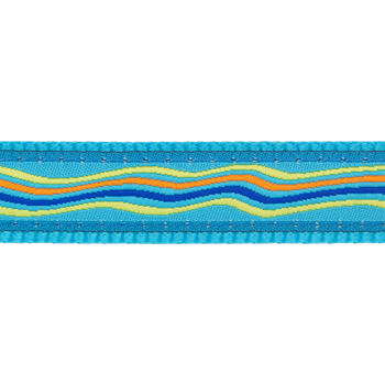 Dog Collar 25 mm x 41-63 cm– Dreamstream Turquoise