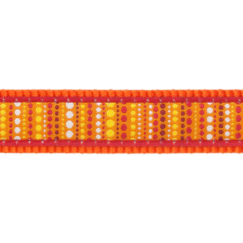 Dog Lead 25 mm x 1,8 m - Lotzadotz Orange